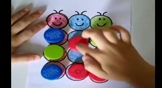بازی فکری؛ مرتب سازی رنگ ها
