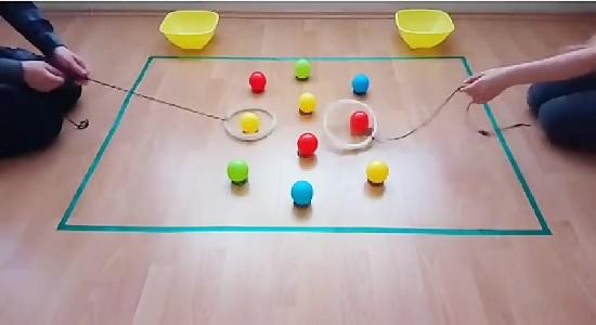 بازی توپ و حلقه