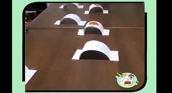 بازی تونل فوتی